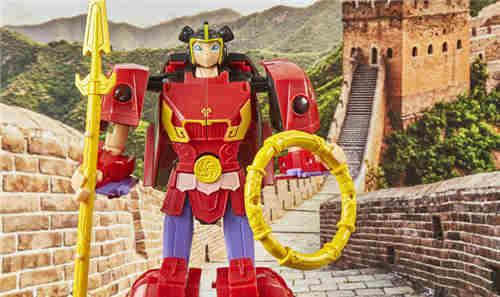 孩之宝公开《哪吒与变形金刚》哪吒小英雄玩具实物图