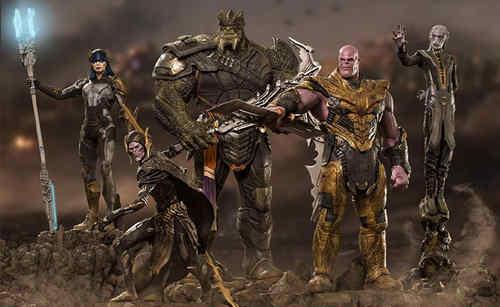 Iron Studios《复仇者联盟:终局之战》灭霸等一众反派