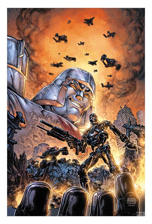 IDW联动黑马漫画推出《变形金刚与终结者》漫画 变形金刚 第6张