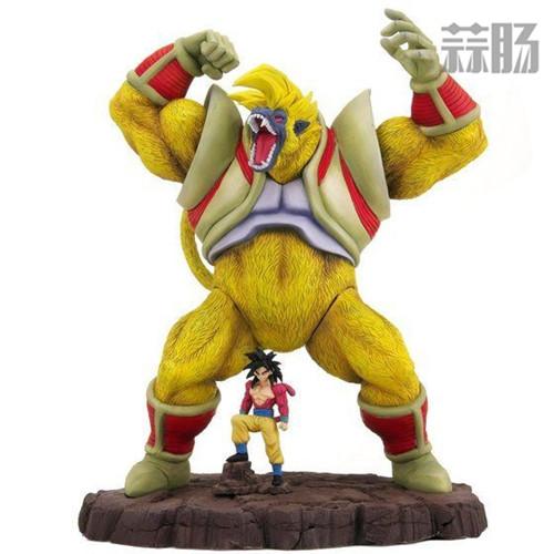 万代公布 大猿&超级赛亚人4孙悟空官图 模玩 第1张