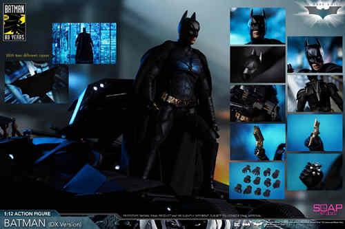 肥皂游发布1:12黑暗骑士蝙蝠侠