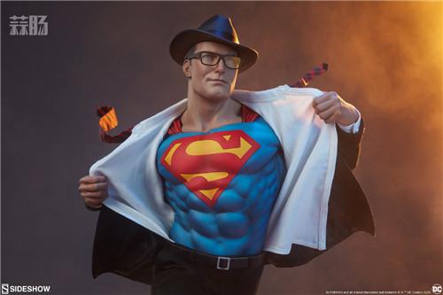 Sideshow公布漫画版超人克拉克雕像 超人 DC Sideshow 模玩  第1张