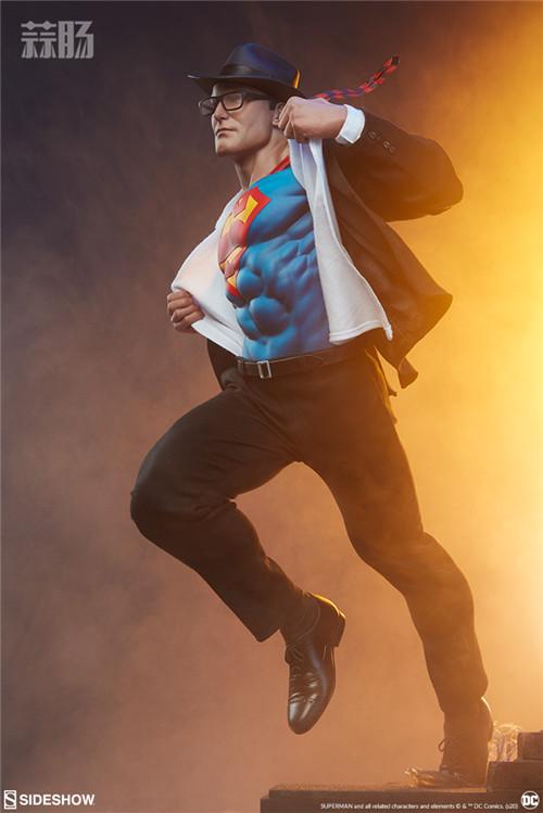 Sideshow公布漫画版超人克拉克雕像 超人 DC Sideshow 模玩  第4张