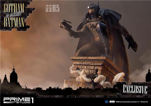 P1S发布1/5蝙蝠侠雕像 模玩 第2张
