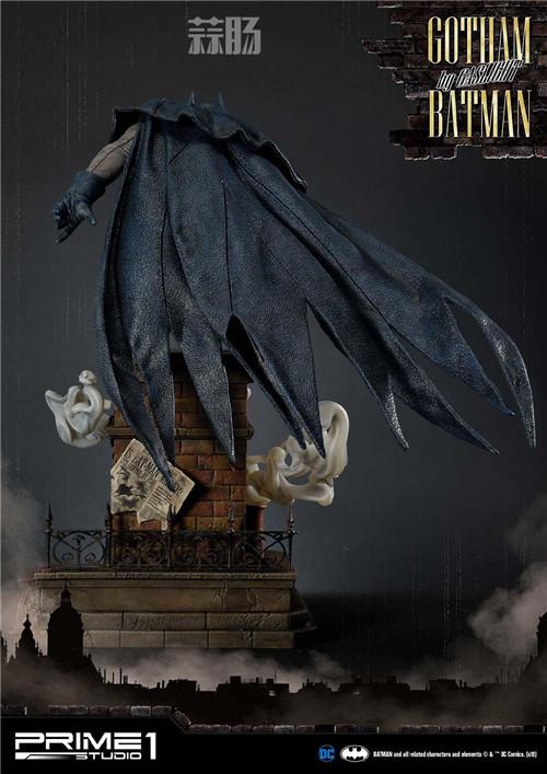 P1S发布1/5蝙蝠侠雕像 模玩 第3张