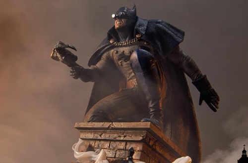 P1S发布1/5蝙蝠侠雕像