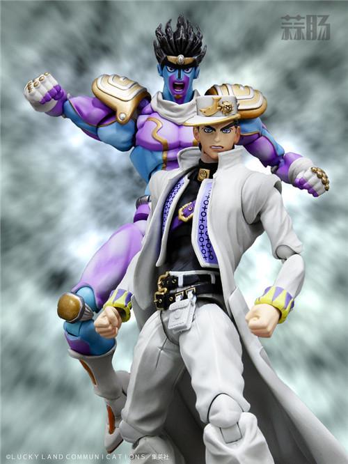 MEDICOS将再版《JOJO 的奇妙冒险》空条承太郎和白金之星手办 模玩 第1张