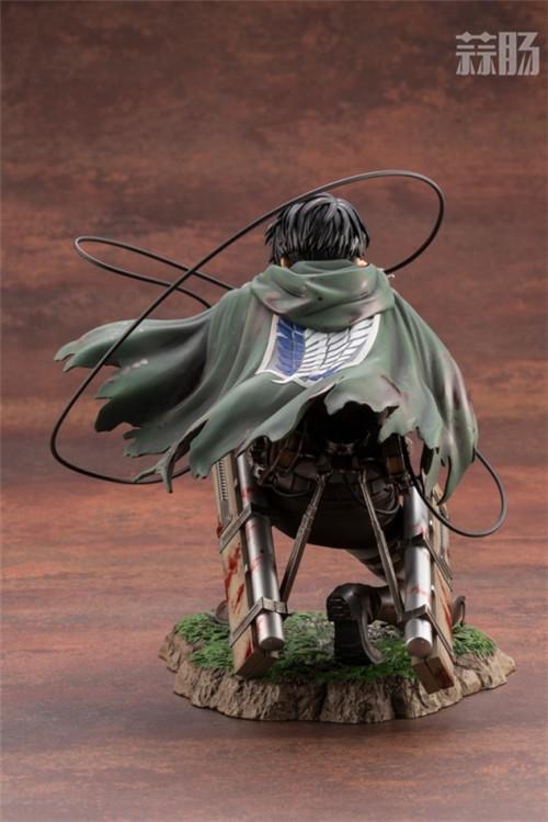 寿屋公布1:7《进击的巨人》里维雕像 模玩 第5张