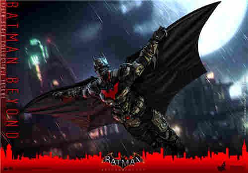 Hot Toys推出《蝙蝠侠:阿卡姆骑士》未来蝙蝠侠1:6比例人偶
