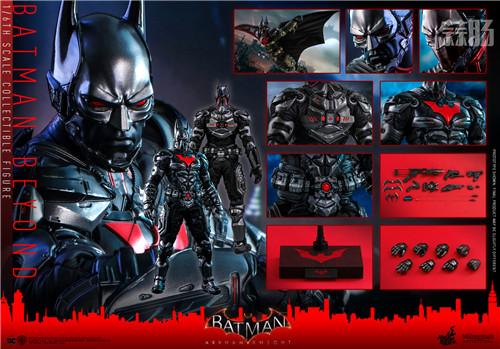 Hot Toys推出《蝙蝠侠:阿卡姆骑士》未来蝙蝠侠1:6比例人偶 模玩 第8张