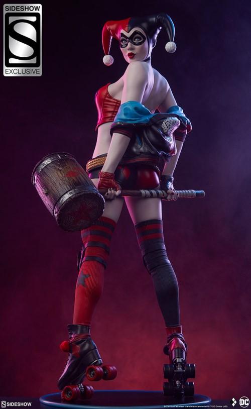 Sideshow 公布DC漫画版小丑女——哈莉奎茵 模玩 第4张