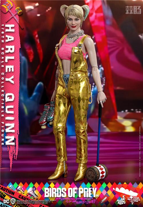 HotToys推出《猛禽小队和哈莉·奎茵》小丑女哈莉·奎茵1:6人偶 模玩 第1张