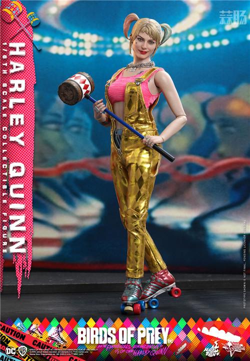 HotToys推出《猛禽小队和哈莉·奎茵》小丑女哈莉·奎茵1:6人偶 模玩 第3张