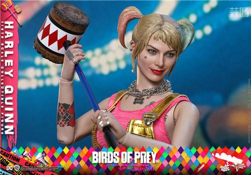 HotToys推出《猛禽小队和哈莉·奎茵》小丑女哈莉·奎茵1:6人偶 模玩 第6张