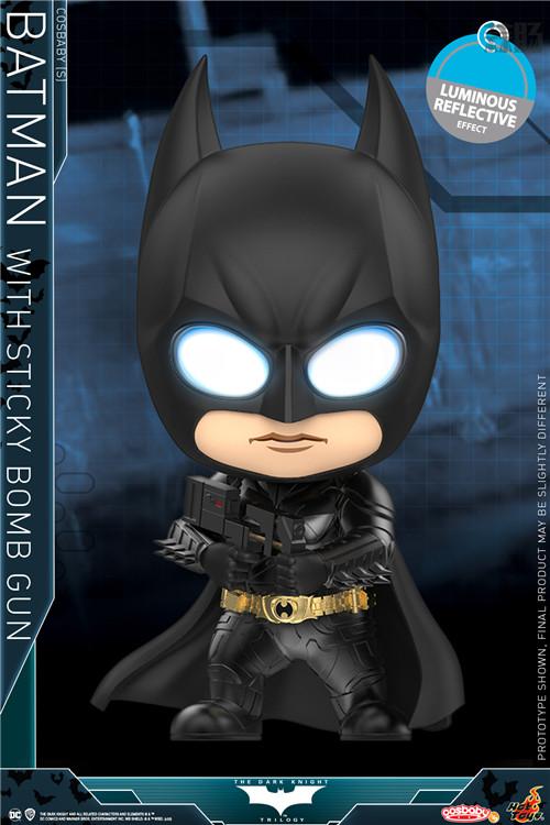 Hot Toys 重启《蝙蝠侠:黑暗骑士》蝙蝠侠和小丑 COSBABY (S) 人偶 模玩 第5张
