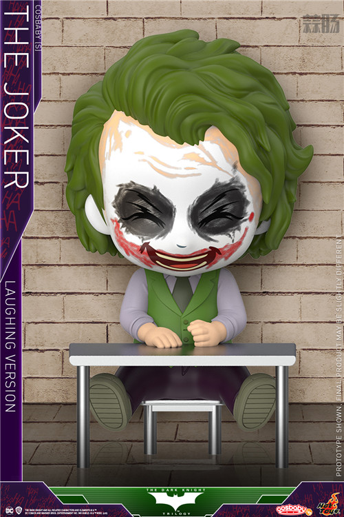 Hot Toys 重启《蝙蝠侠:黑暗骑士》蝙蝠侠和小丑 COSBABY (S) 人偶 模玩 第6张
