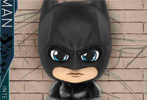 Hot Toys 重启《蝙蝠侠:黑暗骑士》蝙蝠侠和小丑 COSBABY (S) 人偶