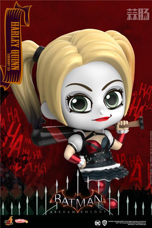 Hot Toys《蝙蝠侠:阿卡姆骑士》小丑与哈莉·奎茵COSBABY人偶 模玩 第4张