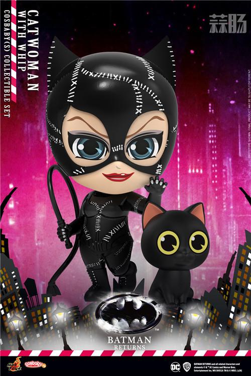 HotToys《蝙蝠侠归来》蝙蝠侠、猫女和企鹅人COSBABY人偶登场 模玩 第2张