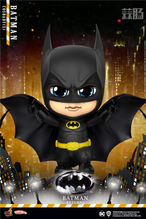HotToys《蝙蝠侠归来》蝙蝠侠、猫女和企鹅人COSBABY人偶登场 模玩 第1张