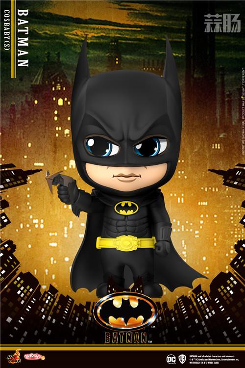 HotToys 1989《蝙蝠侠》蝙蝠侠丶小丑及蝙蝠车 COSBABY人偶 模玩 第4张