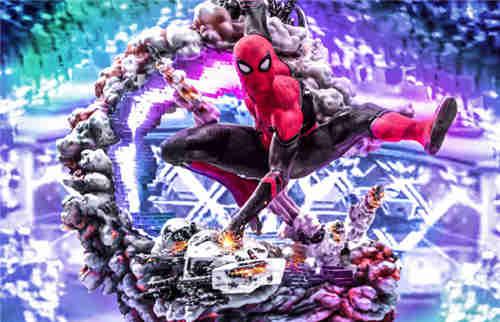巴西大厂Iron Studios公开《蜘蛛侠:英雄远征》蜘蛛侠1:4雕像