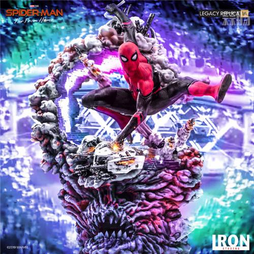 巴西大厂Iron Studios公开《蜘蛛侠:英雄远征》蜘蛛侠1:4雕像 模玩 第1张