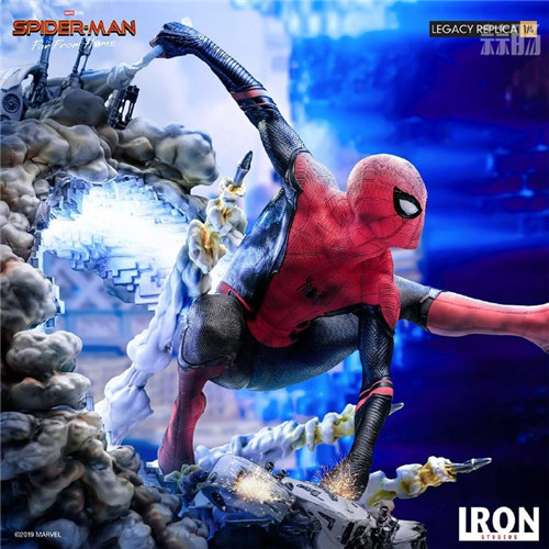 巴西大厂Iron Studios公开《蜘蛛侠:英雄远征》蜘蛛侠1:4雕像 模玩 第3张