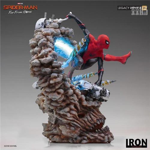 巴西大厂Iron Studios公开《蜘蛛侠:英雄远征》蜘蛛侠1:4雕像 模玩 第5张