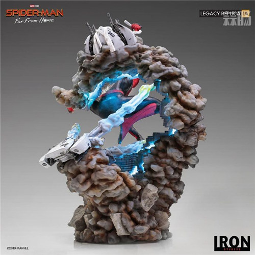 巴西大厂Iron Studios公开《蜘蛛侠:英雄远征》蜘蛛侠1:4雕像 模玩 第7张