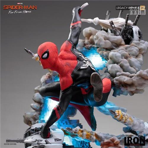 巴西大厂Iron Studios公开《蜘蛛侠:英雄远征》蜘蛛侠1:4雕像 模玩 第8张
