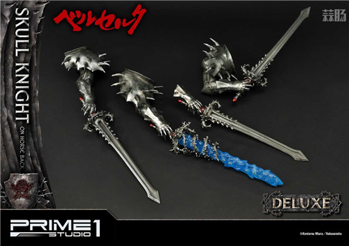 P1S推出《剑风传奇》骷髅骑士1:4骑马版雕像 模玩 第5张
