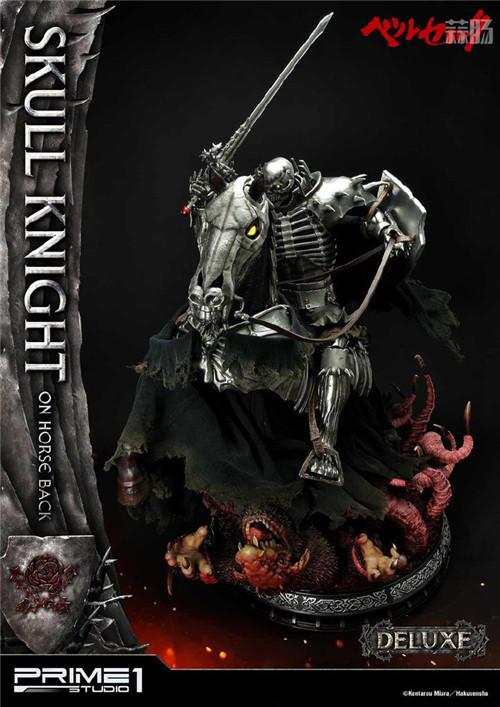 P1S推出《剑风传奇》骷髅骑士1:4骑马版雕像 模玩 第9张
