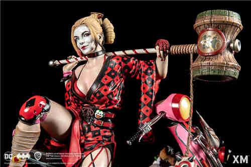 XM Studios推出武士系列哈莉·奎茵 1:4雕像