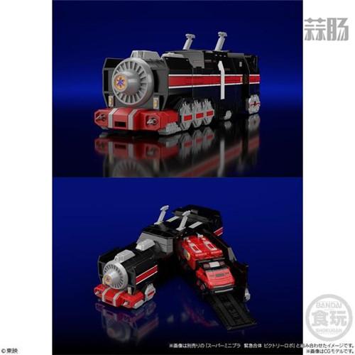 万代推出会员限定《救急战队GO GO V》组合机器人食玩 模玩 第8张