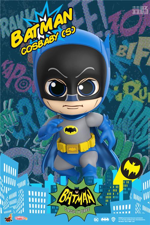 Hot Toys电视剧《蝙蝠侠》正丶反角色化身COSBABY人偶登场 DC漫画 罗宾 小丑 蝙蝠侠 HT HotToys 模玩  第2张