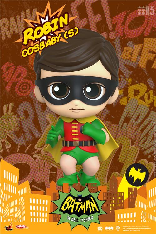 Hot Toys电视剧《蝙蝠侠》正丶反角色化身COSBABY人偶登场 DC漫画 罗宾 小丑 蝙蝠侠 HT HotToys 模玩  第3张