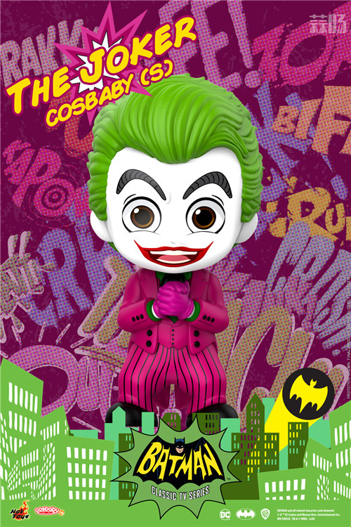 Hot Toys电视剧《蝙蝠侠》正丶反角色化身COSBABY人偶登场 DC漫画 罗宾 小丑 蝙蝠侠 HT HotToys 模玩  第4张