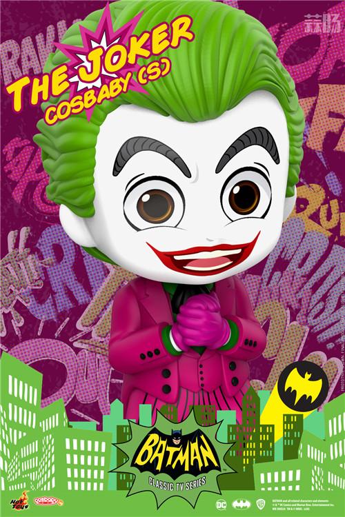 Hot Toys电视剧《蝙蝠侠》正丶反角色化身COSBABY人偶登场 DC漫画 罗宾 小丑 蝙蝠侠 HT HotToys 模玩  第7张