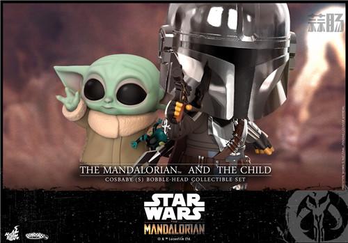 Hot Toys推出《曼达洛人》The Child与主角曼达洛人COSBABY人偶 模玩 第3张
