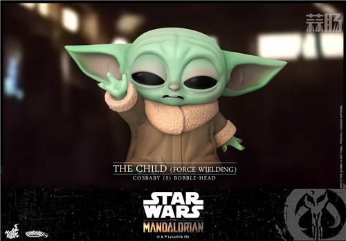 Hot Toys推出《曼达洛人》The Child与主角曼达洛人COSBABY人偶 模玩 第4张