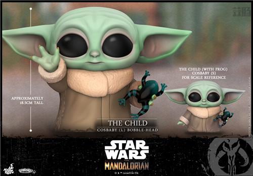 Hot Toys推出《曼达洛人》The Child与主角曼达洛人COSBABY人偶 模玩 第7张