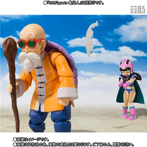 万代公开SHF可动手办《七龙珠》童年版琪琪 模玩 第8张