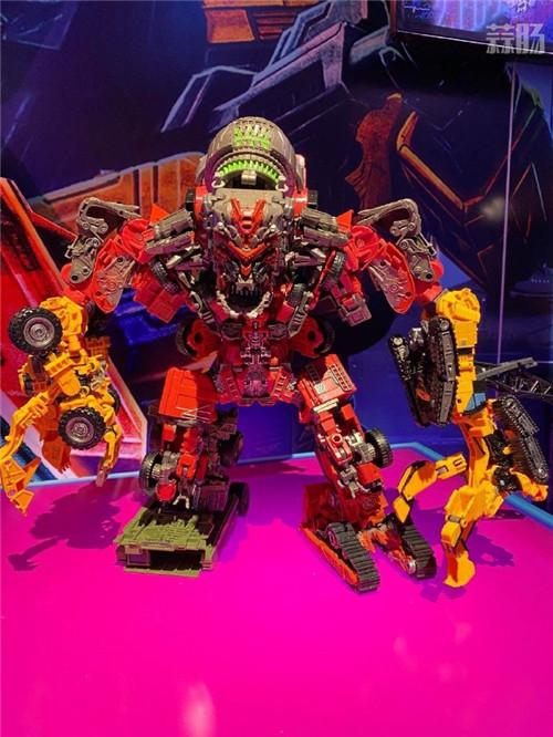 ToyFair2020:变形金刚Earthrise撒克巨人与tudio Series大力神实体图放出 变形金刚 第5张
