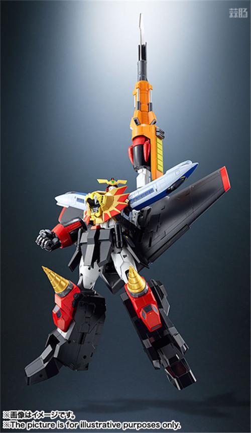 万代宣布再版超合金魂GX-68勇者王GAOGAIGAR 模玩 第2张