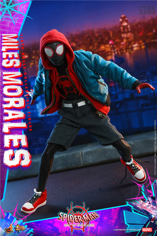 Hot Toys推出《蜘蛛侠:平行宇宙》迈尔斯·莫拉莱斯1:6比例珍藏人偶 模玩 第1张