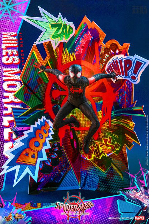 Hot Toys推出《蜘蛛侠:平行宇宙》迈尔斯·莫拉莱斯1:6比例珍藏人偶 模玩 第9张