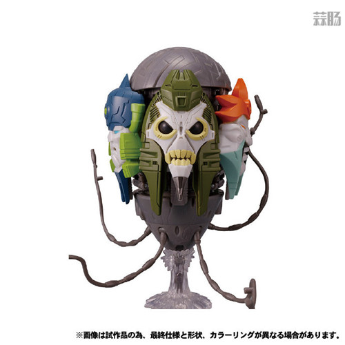 Takara Tomy公开日版Earthrise五面怪官图 鳄鱼精颜色不同 变形金刚 第2张
