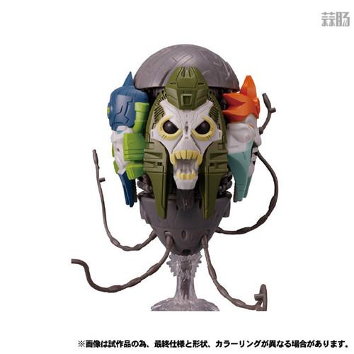 Takara Tomy公开日版Earthrise五面怪官图 鳄鱼精颜色不同 变形金刚 第3张