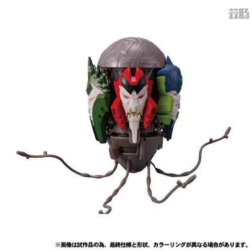 Takara Tomy公开日版Earthrise五面怪官图 鳄鱼精颜色不同 变形金刚 第4张